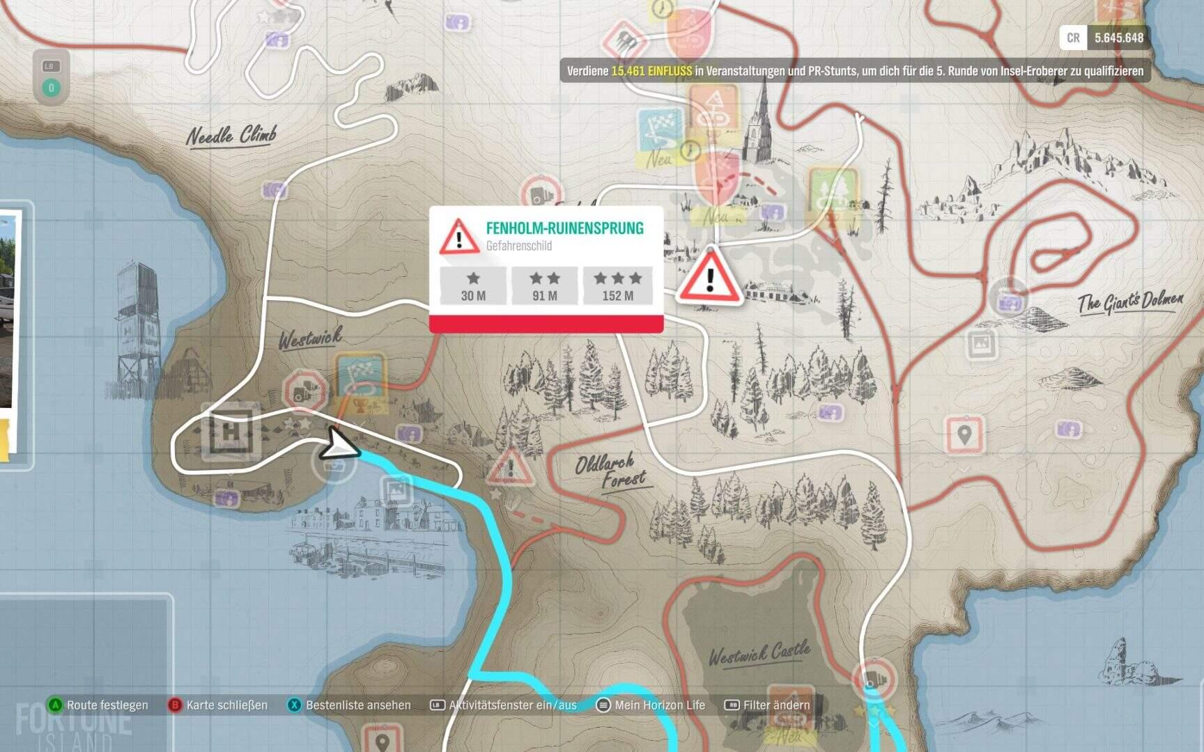 Forza Horizon 4 Fortune Island Fenholm Ruinensprung