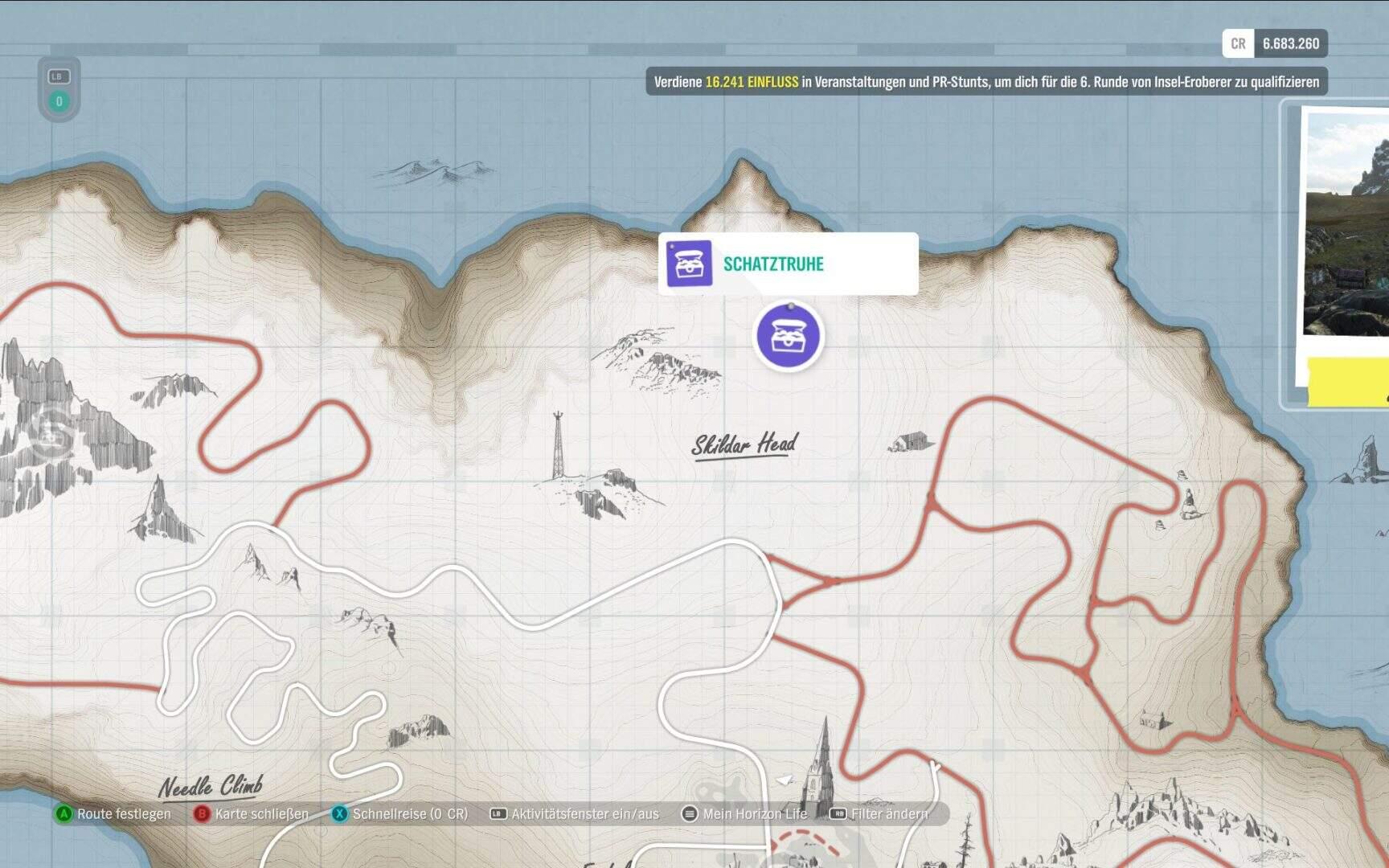 Forza Horizon 4 Fortune Island Schatztruhe 5 Location