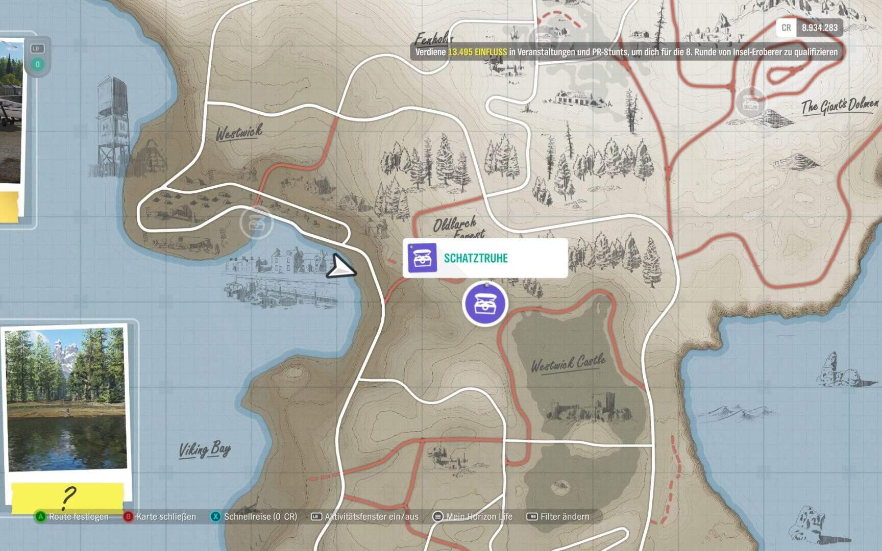 Forza Horizon 4 Fortune Island Schatztruhe 7 Location