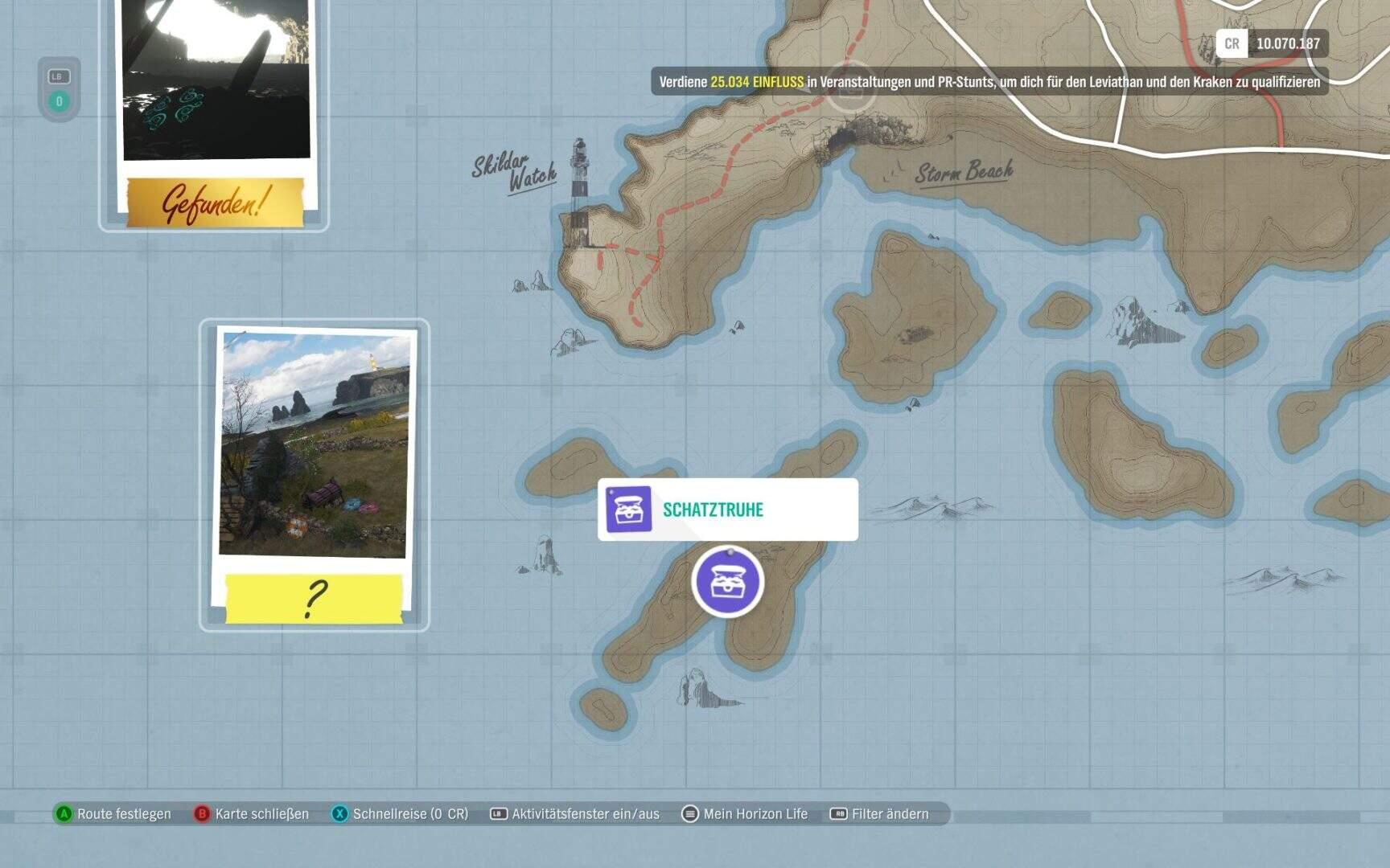 Forza Horizon 4 Fortune Island Schatztruhe 9 Location