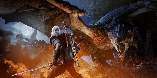 Monster Hunter World Geralt von Riva