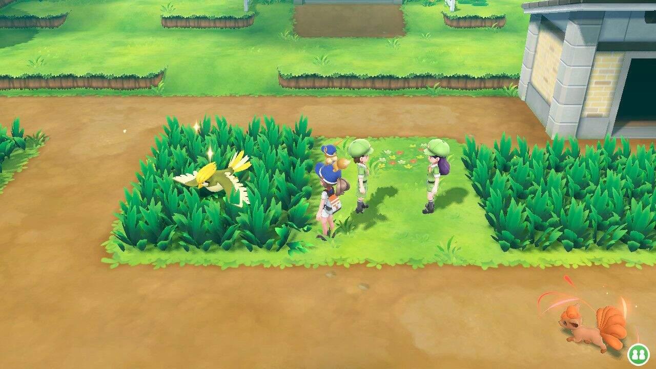 Pokémon Let´s GO Shiny Oberwelt
