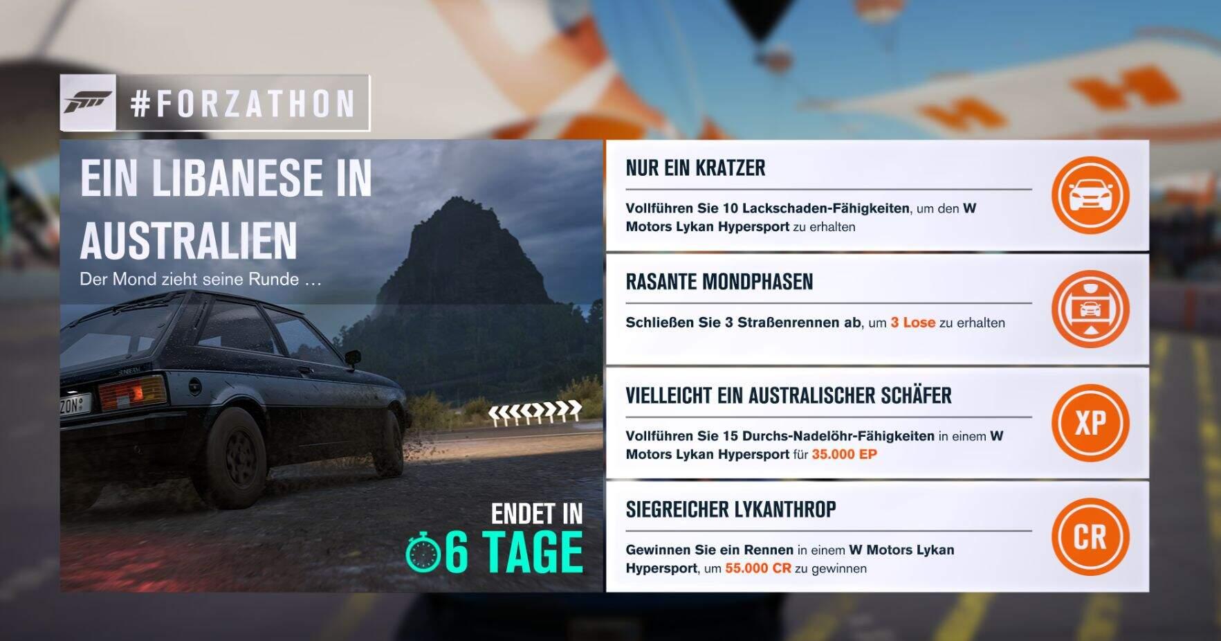 Forza Horizon 3 Forzathon KW 03 / 2019