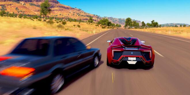 Forza Horizon 3 Lackschaden