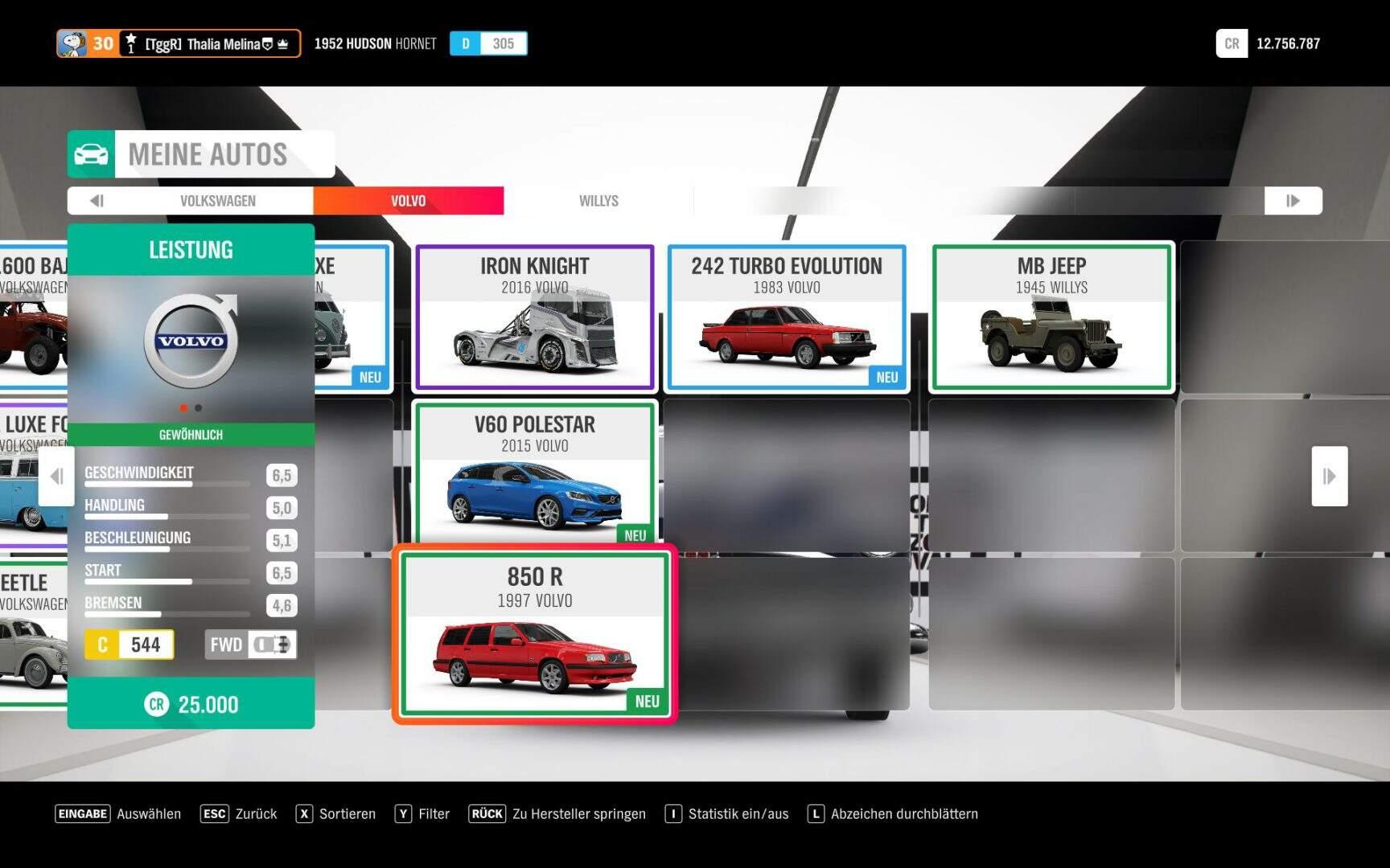 Forza Horizon 4 1997 Volvo 850 R