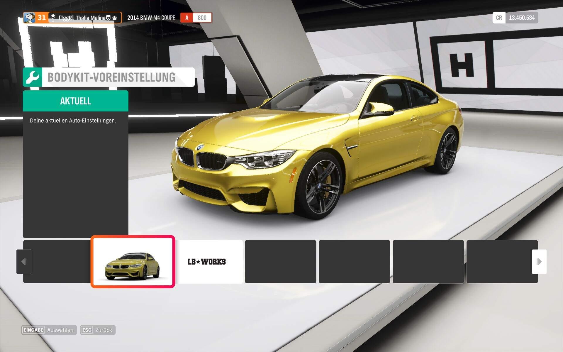 Forza Horizon 4 Einsteigertipps - Einfach an Credits