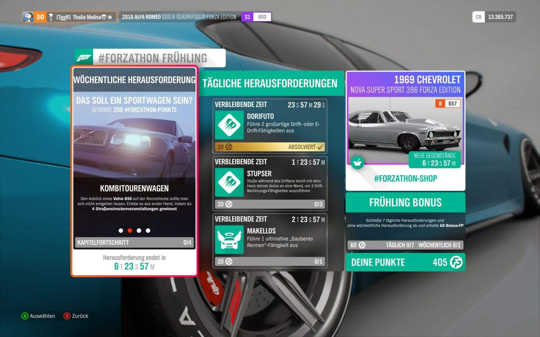 Forza Horizon 4 Forzathon KW 02 / 2019 Aufgabe 2