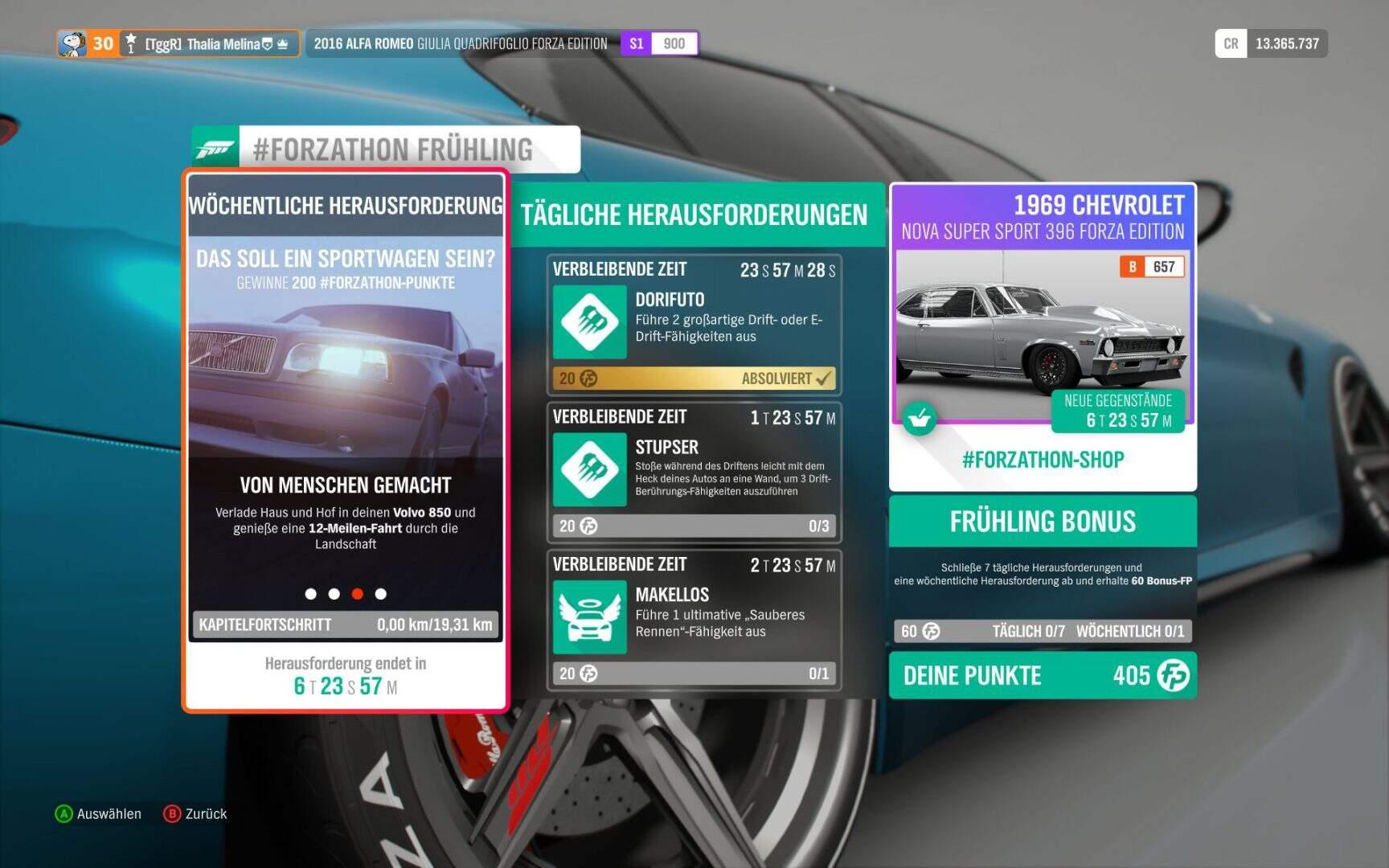 Forza Horizon 4 Forzathon KW 02 / 2019 Aufgabe 3