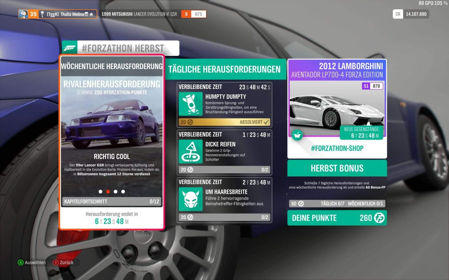 Forza Horizon 4 Forzathon KW 04 / 2019 Aufgabe 02