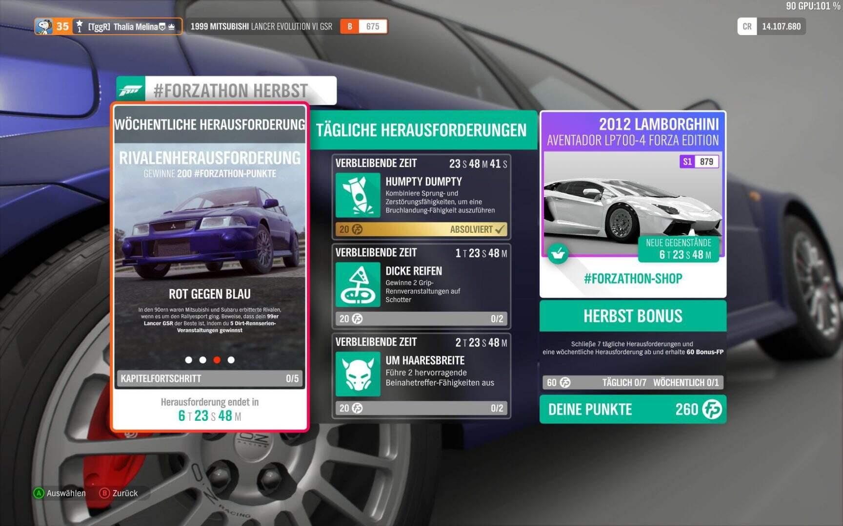 Forza Horizon 4 Forzathon KW 04 / 2019 Aufgabe 03