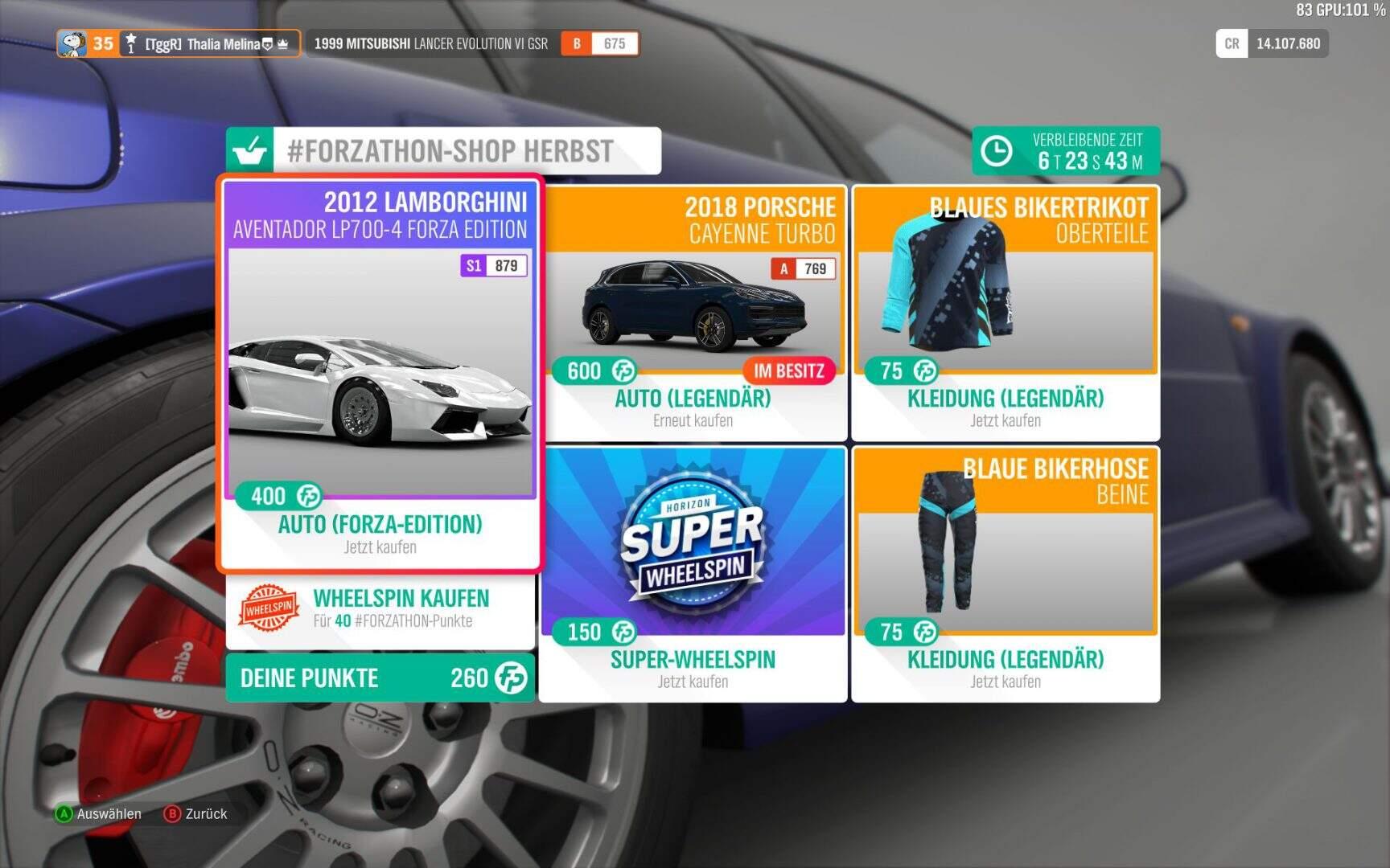 Forza Horizon 4 #Forzathon Shop KW 04 / 2019