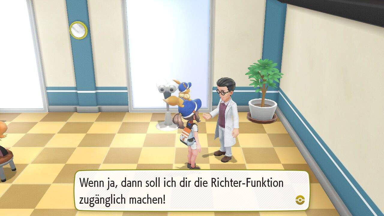 Pokémon Let´s GO Richter Funktion