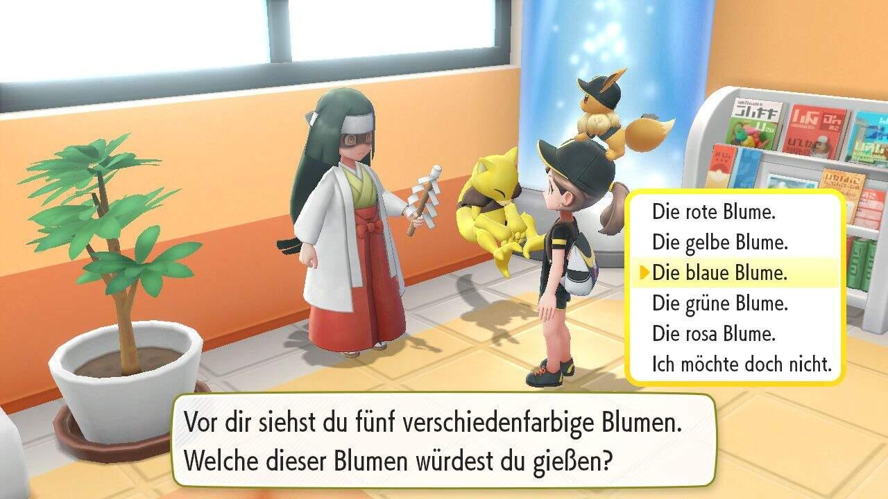 Pokémon Let's GO Wesen beeinflussen