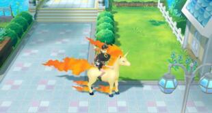 Pokémon Let´s GO Reiten Galoppa