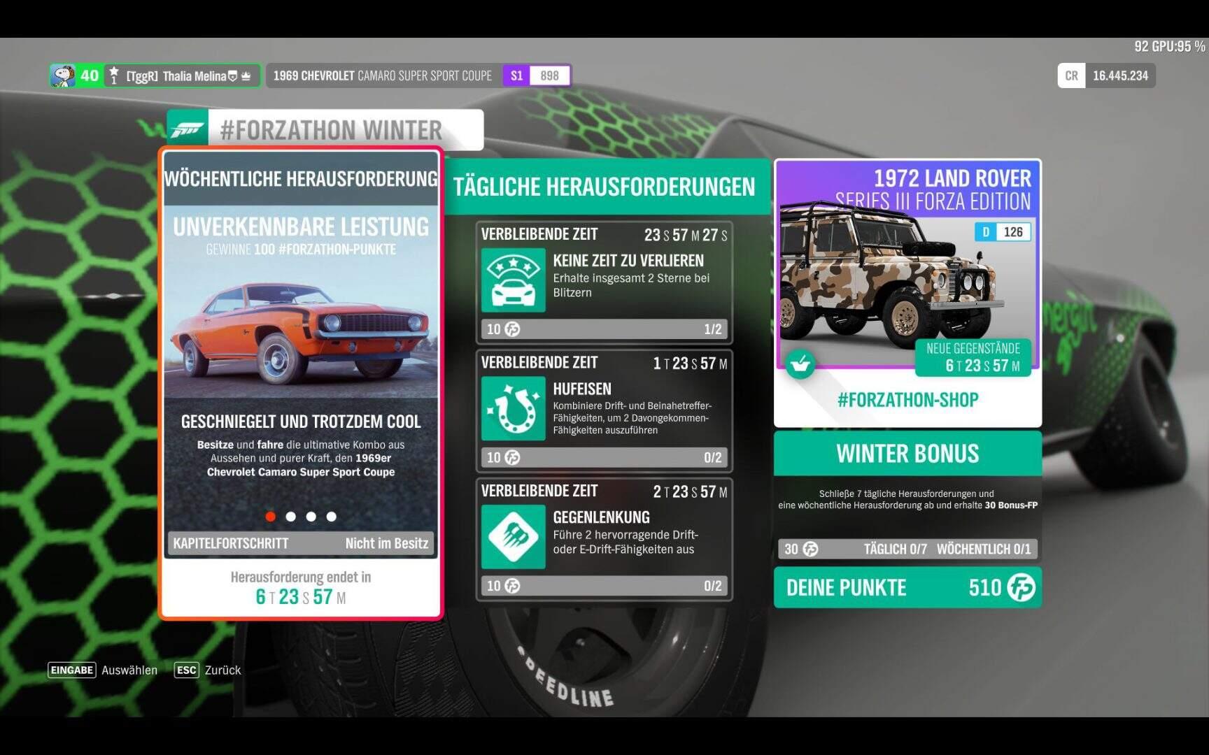 Forza Horizon 4 #Forzathon KW 09 / 2019 Aufgabe 1