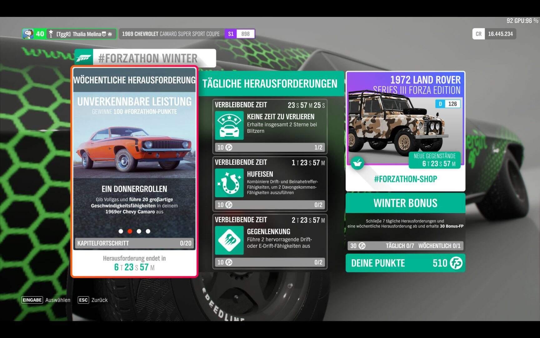 Forza Horizon 4 #Forzathon KW 09 / 2019 Aufgabe 2