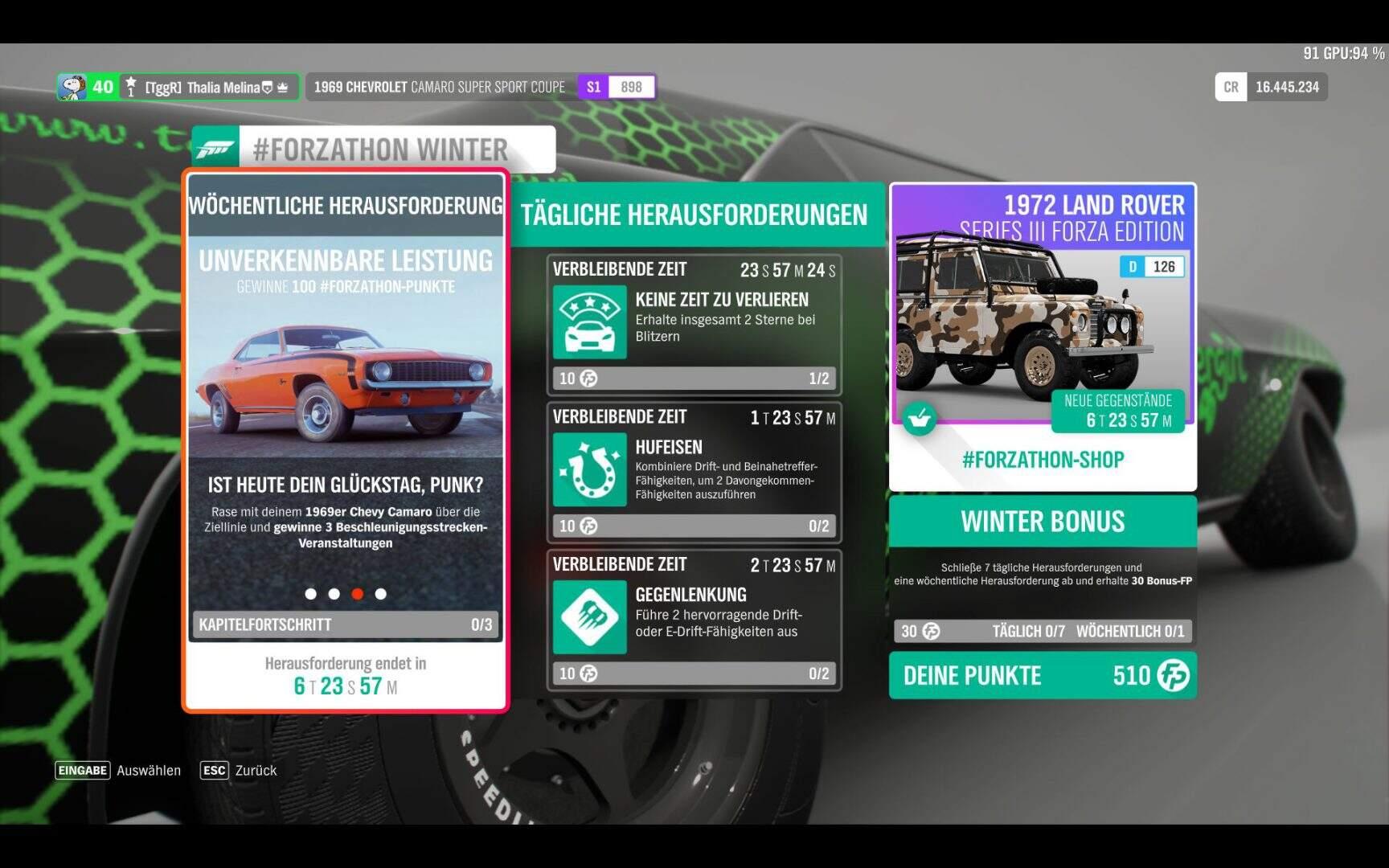 Forza Horizon 4 #Forzathon KW 09 / 2019 Aufgabe 3