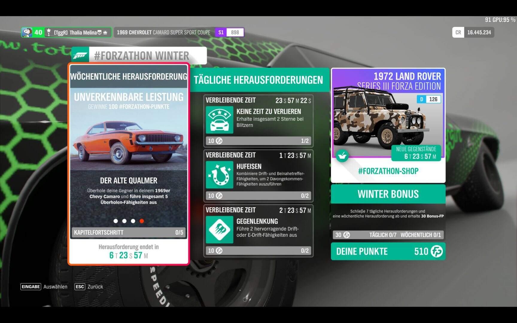 Forza Horizon 4 #Forzathon KW 09 / 2019 Aufgabe 4
