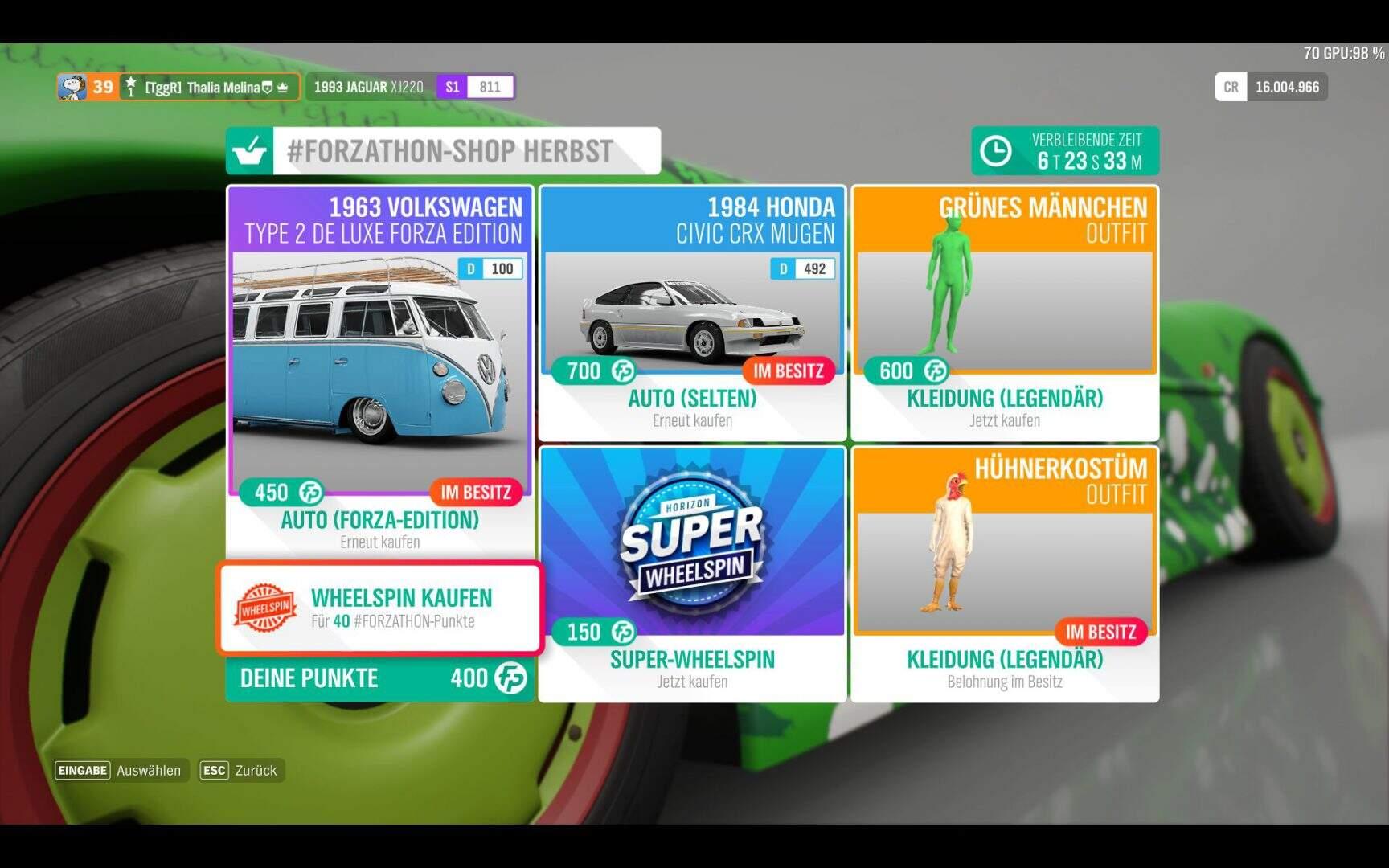 Forza Horizon 4 #Forzathon Shop KW 08 / 2019