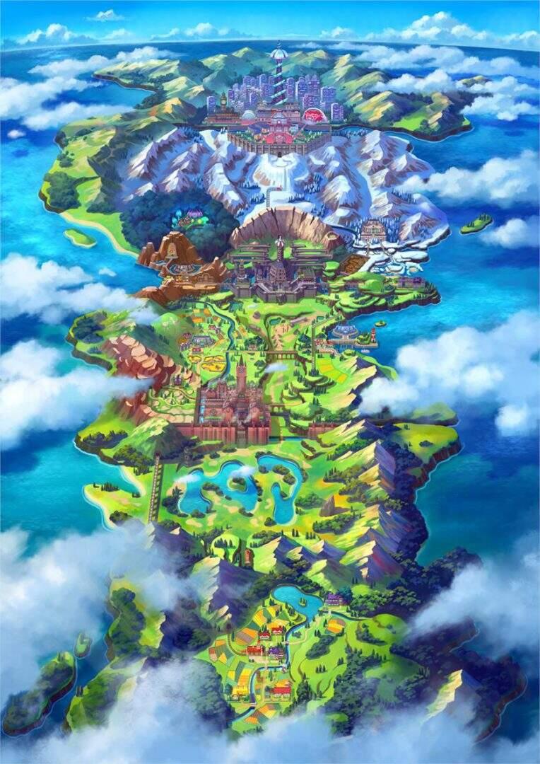 Pokémon Schwert und Schild Galar-Region