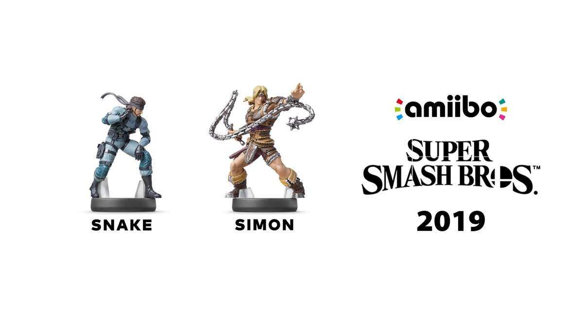 Super Smash Bros. Ultimate Snake und Simon amiibo