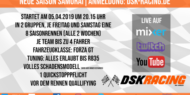 DSK Racing Forza Motorsport 7