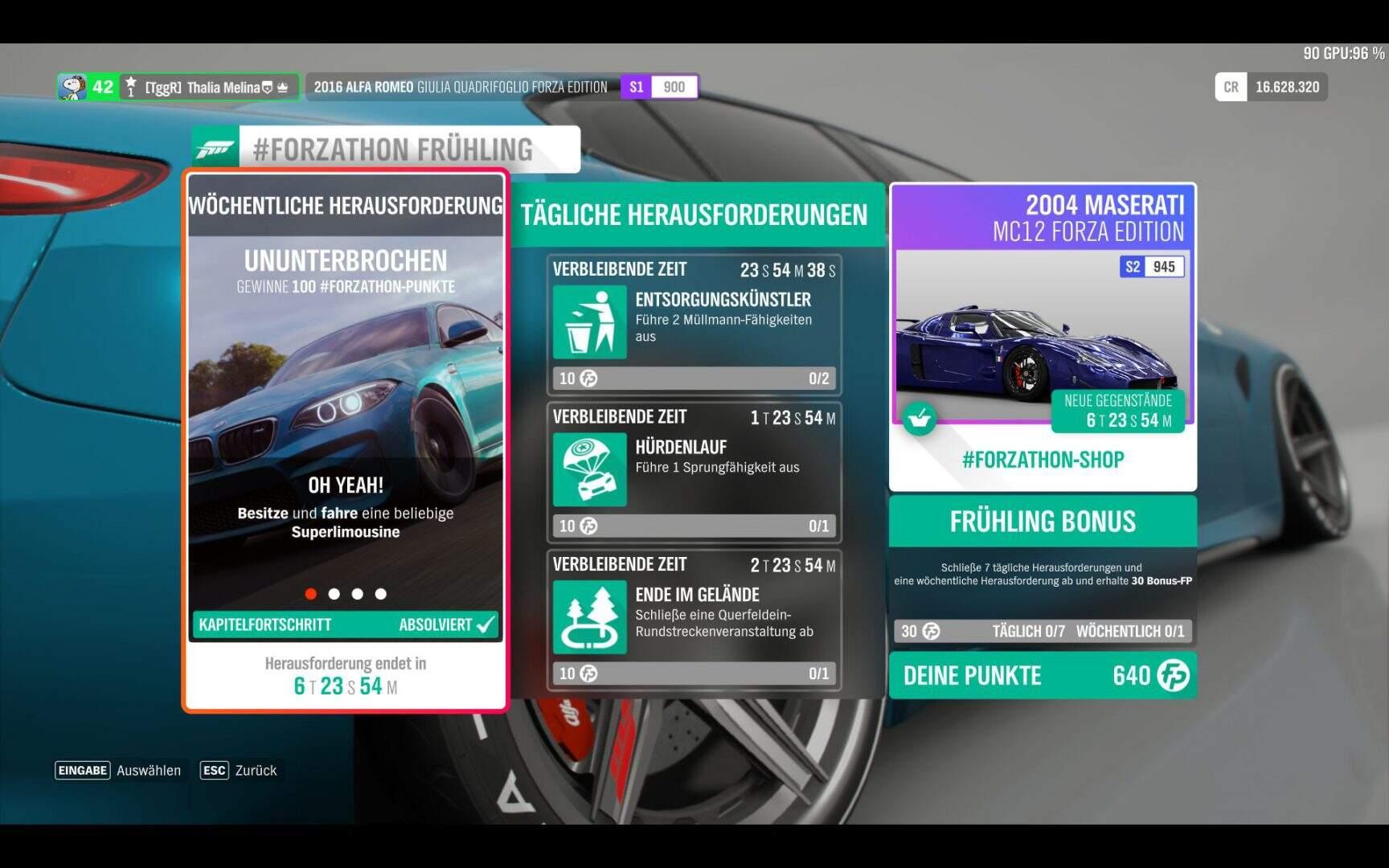 Forza Horizon 4 #Forzathon KW 10 / 2019 Aufgabe 1