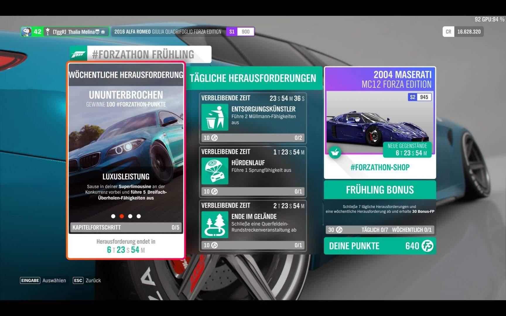 Forza Horizon 4 #Forzathon KW 10 / 2019 Aufgabe 2