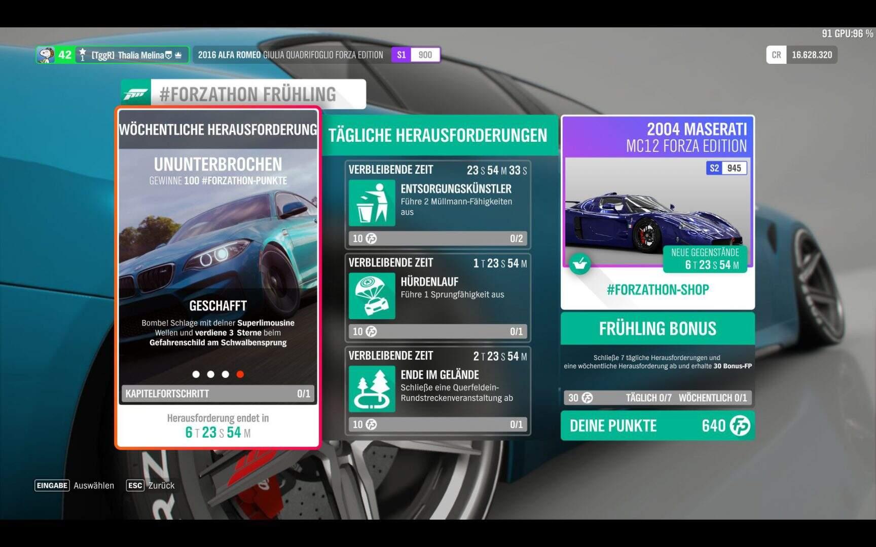 Forza Horizon 4 #Forzathon KW 10 / 2019 Aufgabe 4