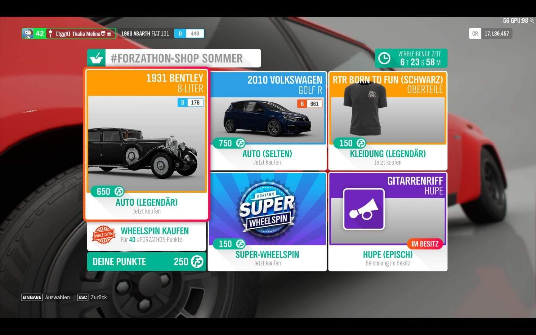Forza Horizon 4 #Forzathon Shop KW 11 / 2019
