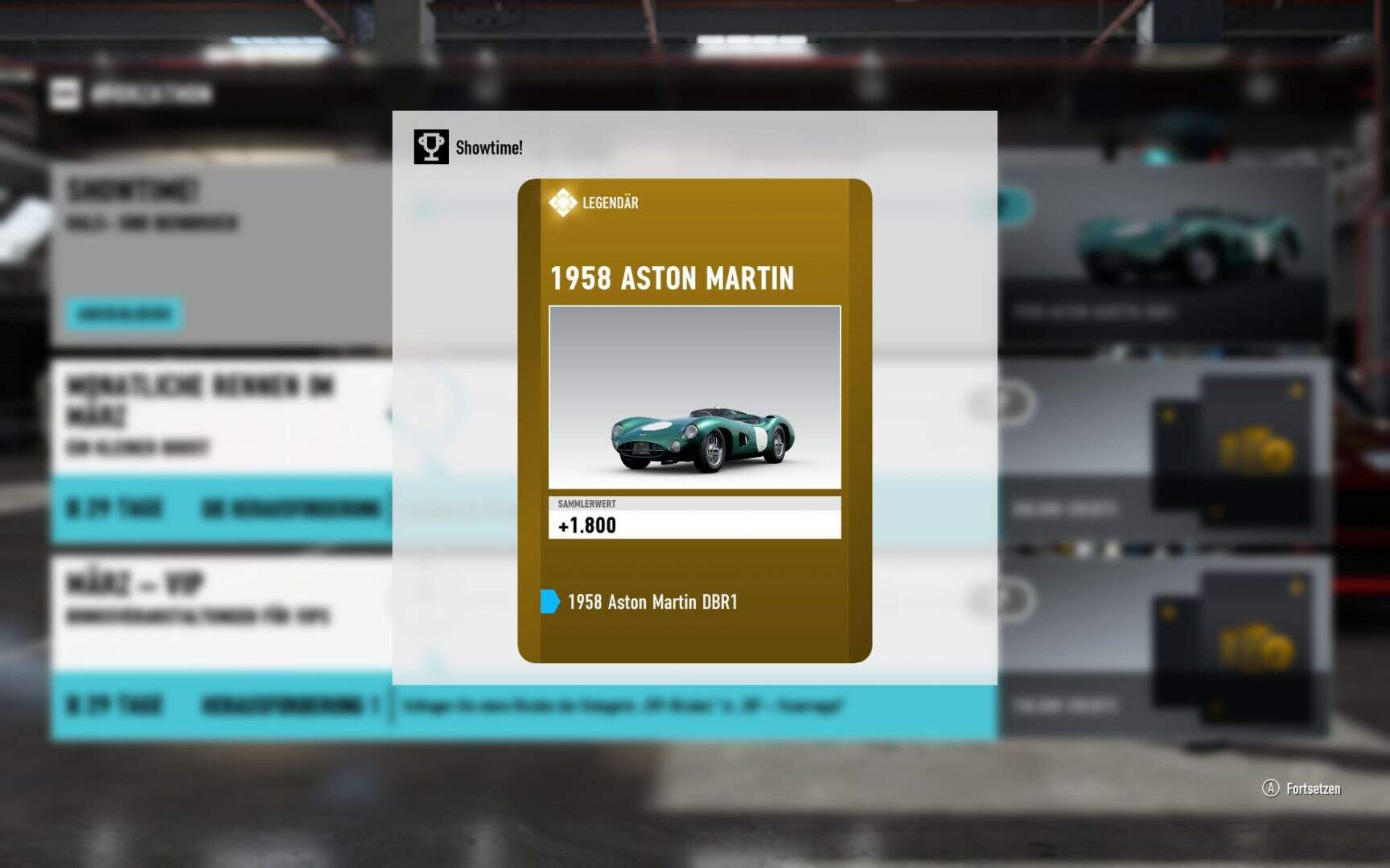 Forza Motorsport 7 1958 Aston Martin DBR1