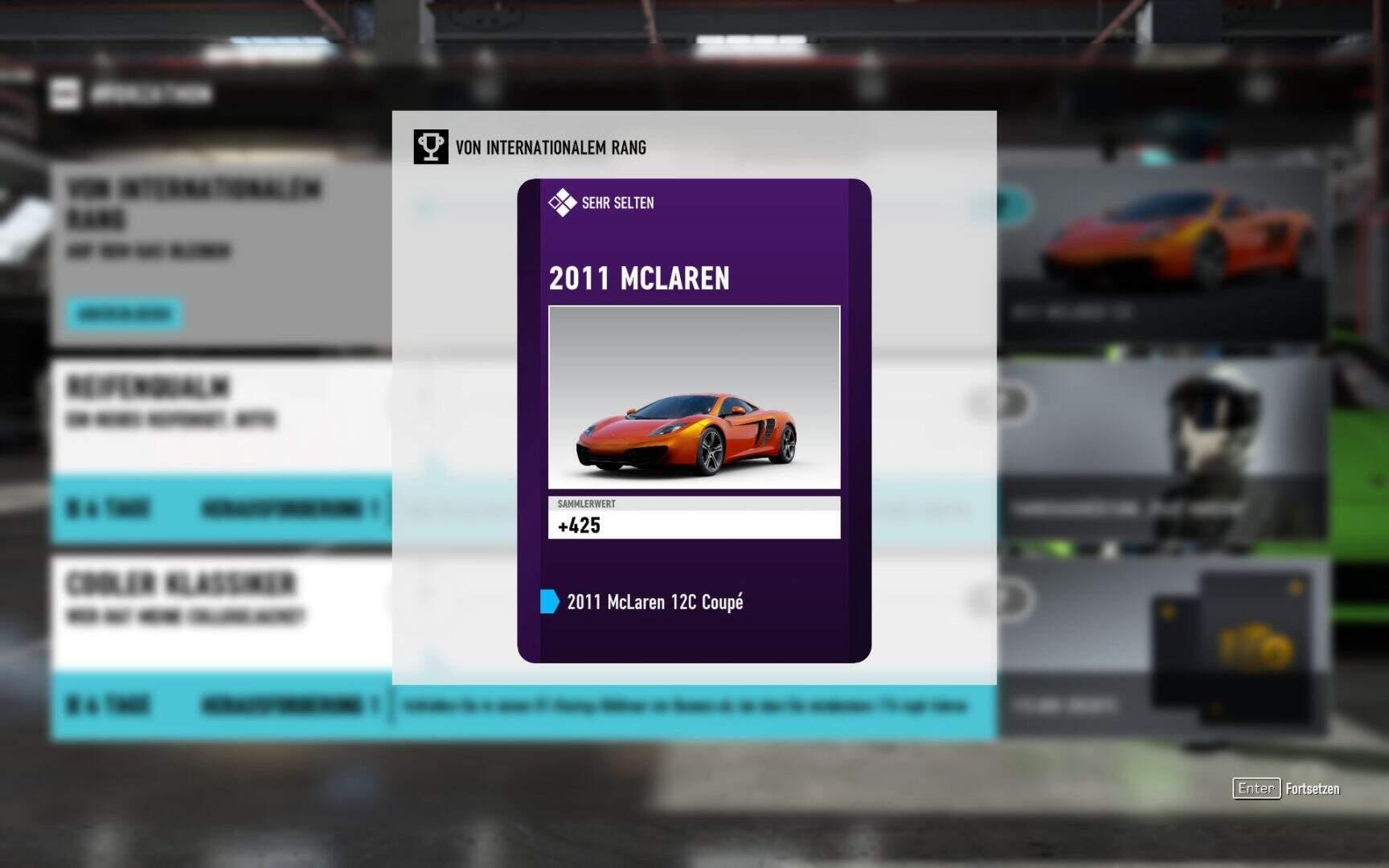 Forza Motorsport 7 2011 McLaren 12C Coupé