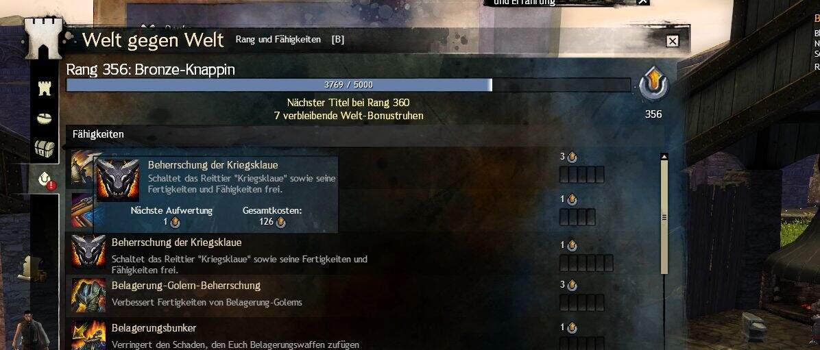 Guild Wars 2 Beherrschung der Kriegsklaue