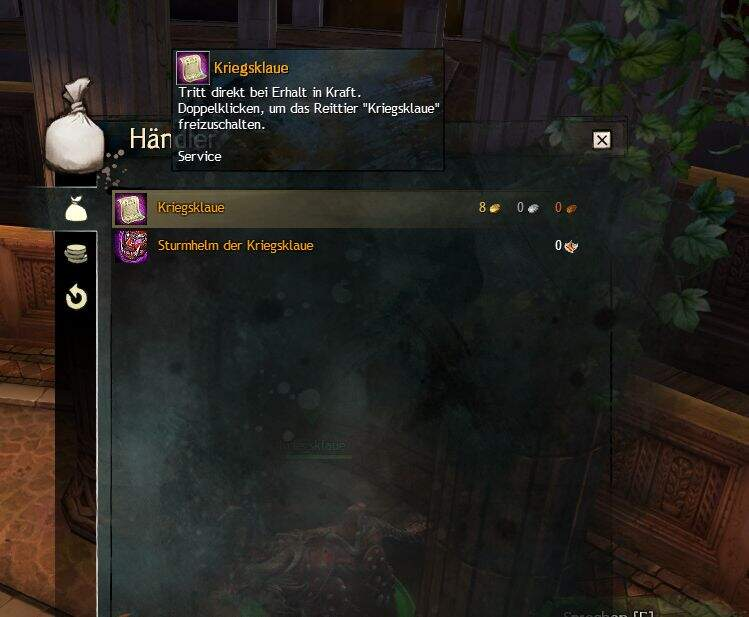 Guild Wars 2 Kriegsklaue
