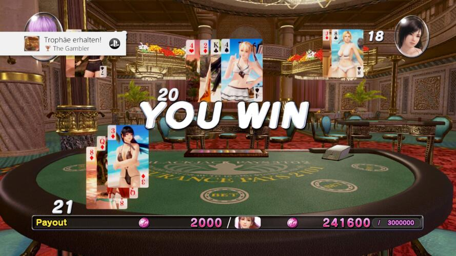 Dead or Alive Xtreme 3 Scarlet Casino