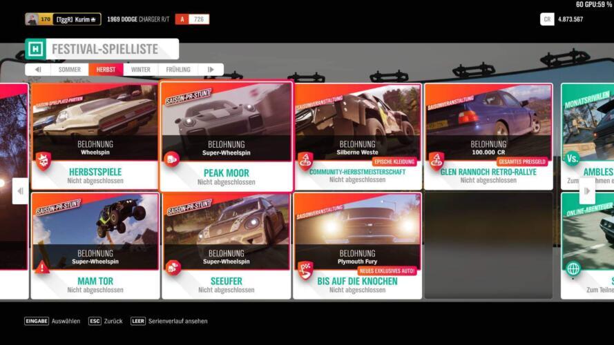 Forza Horizon 4 Forzathon Guide KW 16 – Spielzeit 1