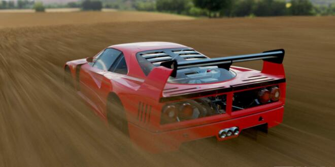 Forza Horizon 4 Ferrari F40 Competizione