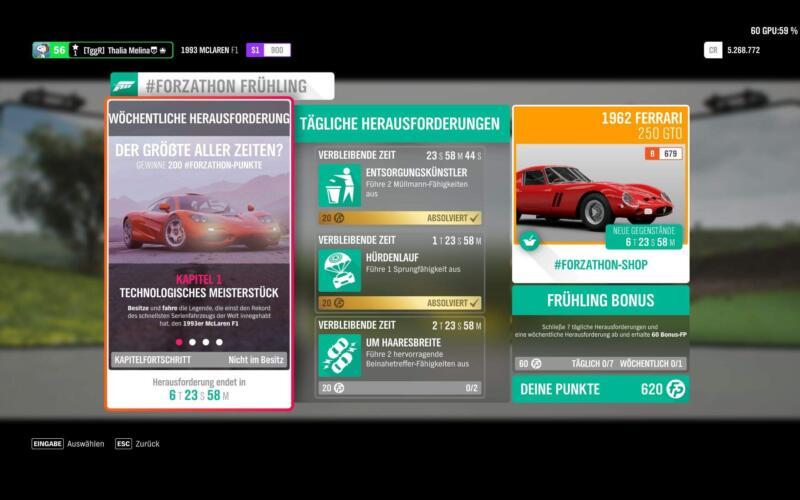 Forza Horizon 4 #Forzathon KW 14 / 2019 Kapitel 1