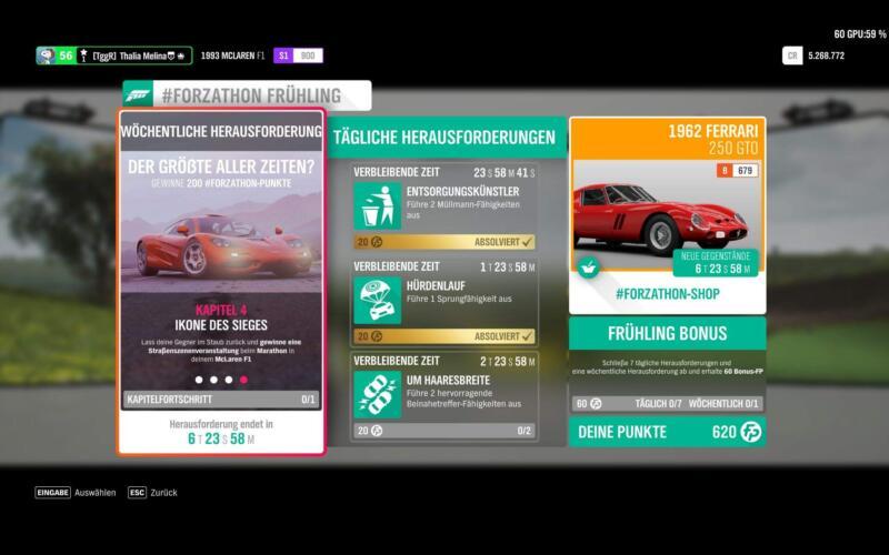 Forza Horizon 4 #Forzathon KW 14 / 2019 Kapitel 4