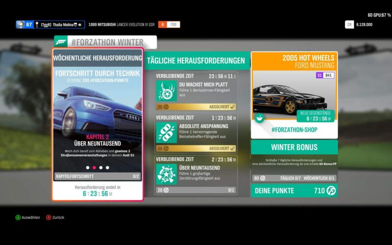 Forza Horizon 4 #Forzathon KW 17 2019 Kapitel 2