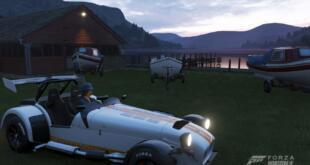 Forza Horizon 4 Abendsonne