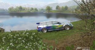 Forza Horizon 4 Wolken im See
