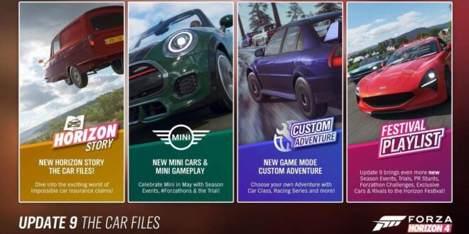 Forza Horizon 4 Series 9 Update