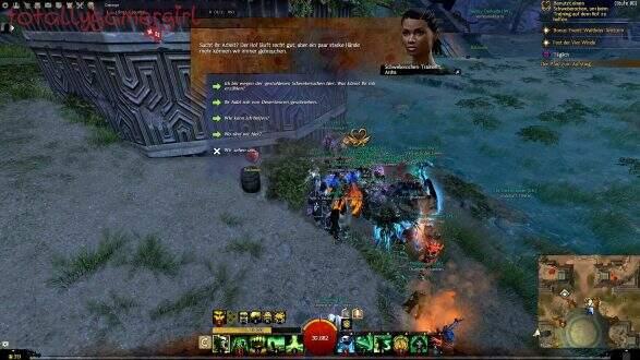 Guild Wars 2 Über die Tiefen Hinweg Beherrschung - Suche nach Sibaha - Ardra