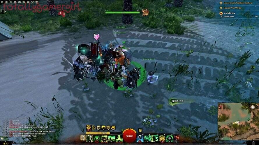 Guild Wars 2 Über die Tiefen Hinweg Beherrschung - Suche nach Sibaha - Charr Kali