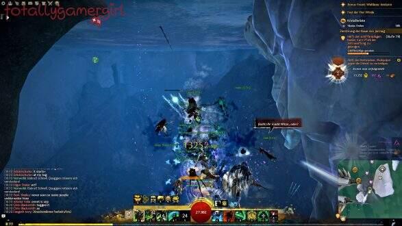 Guild Wars 2 Über die Tiefen Hinweg Beherrschung - Suche nach Sibaha - Moshpoipoi Event