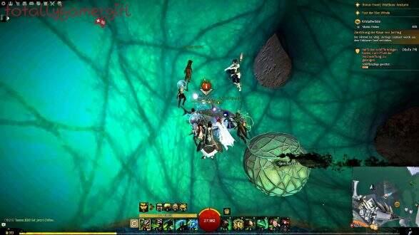 Guild Wars 2 Über die Tiefen Hinweg Beherrschung - Suche nach Sibaha - Moshpoipoi Laamaa