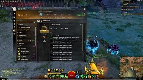 Guild Wars 2 Über die Tiefen Hinweg Beherrschung - Suche nach Sibaha - Sammlung
