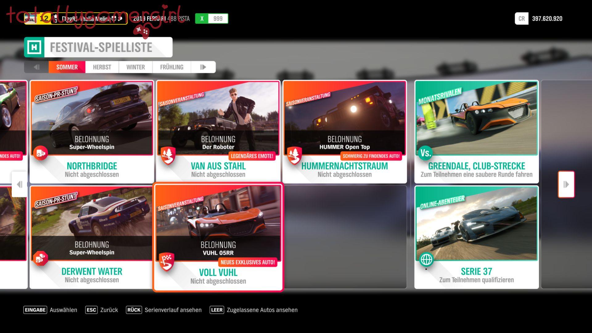 Forza Horizon 4 Festival Spielliste KW 26 2021 - Aufgaben ...